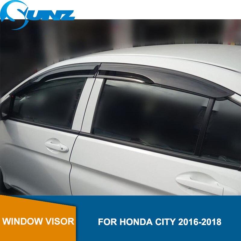 Fits 05-07 Honda Odyssey Acrylic Window Visors 4Pc Set
