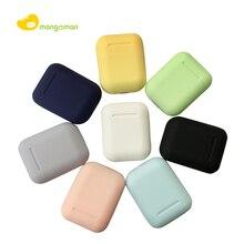 Mangoman Bluetooth наушники 5,0 Inpods 12 Беспроводные наушники спортивные наушники i12 i7 наушники bluetooth наушники гарнитура Inpods12