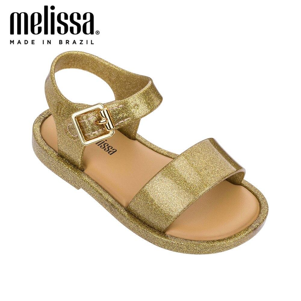 Mini Melissa Mar Sandal IV Girl Jelly Shoes Sandals 2020 NEW Baby Shoes Melissa Sandals Kids Shoes Children Little Girl Shoes