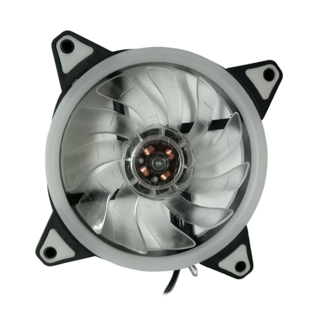Led Light Ultra Quiet Durable Aluminum Pc Cpu Cooler Cooling Fan Silent Cooling Fan Cpu Cooler Heat Sink For Computer