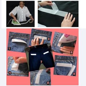 Image 1 - בטיחות רעיוני חום העברה ויניל סרט DIY כסף ברזל על קלטת רעיוני עבור בגדים