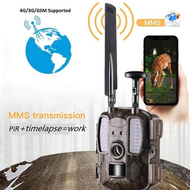 Balever BL480L-P 4G Hunting Trail Cameras 940nm IR Wildlife Forest  Trap 12MP HD Wild Game Cameras фотоловушка для охраны 2