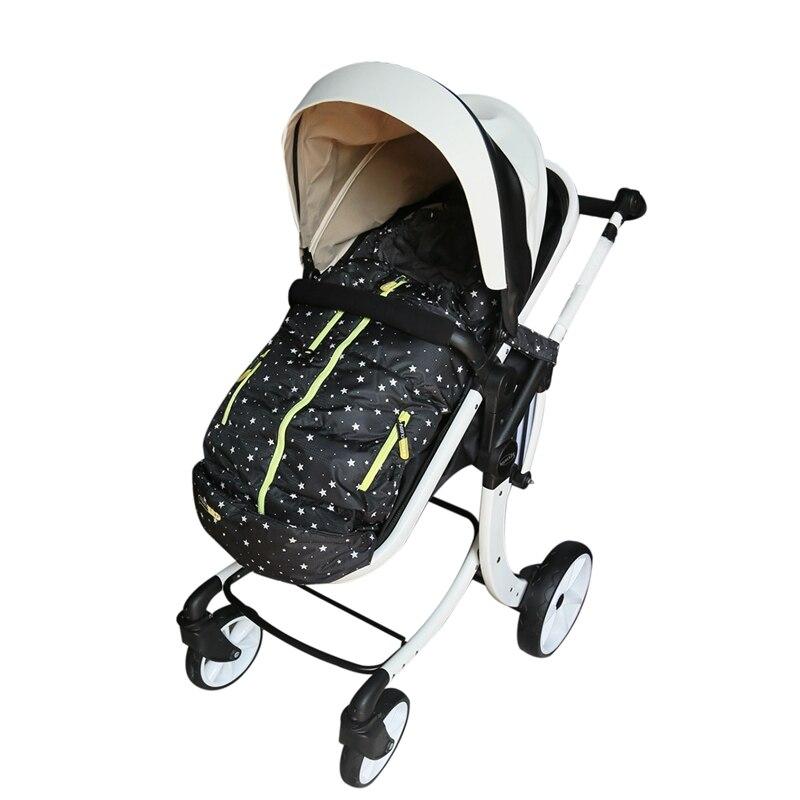 Детский спальный мешок, зимний мешок для коляски, теплый водонепроницаемый плотный конверт для коляски, детский спальный мешок slaapzak для коляски couchage