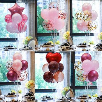 Balony dekoracja na przyjęcie z okazji urodzin balon stojak dekoracje na Baby Shower dzieci płeć odsłonić miłość ślub balon stojak tanie i dobre opinie CN (pochodzenie) ROUND Serce Z tworzywa sztucznego Ślub i Zaręczyny Chrzest chrzciny Na Dzień świętego Patryka Wielkie wydarzenie