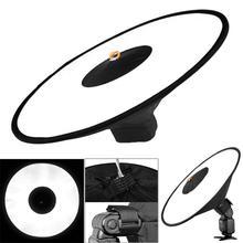 Портативный Круглый софтбокс Универсальный Рассеиватель-светильник для вспышки из ткани Оксфорд для студийной фотосъемки рассеиватель-ремень для камеры 17 дюймов/43 см