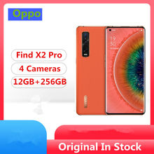 "Original Oppo Find X2 Pro 5G Mobile Phone Snapdragon 865 Android 10.0 6.7"" 120HZ 3168X1440 12GB RAM 256GB ROM 48.0MP 65W Charger(China)"
