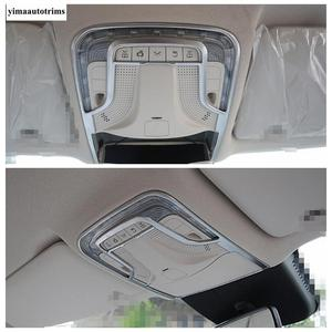Image 5 - Matte Accessories For Mercedes Benz Vito W447 2014   2019 Car Inner Front Roof Reading Lights Lamps Panel Cover Trim Interior
