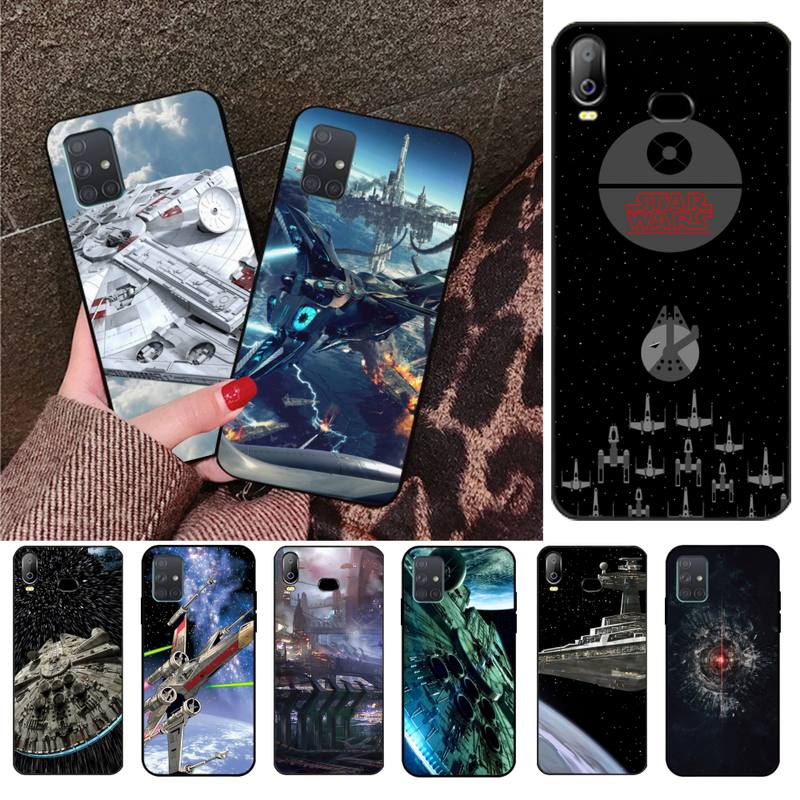 <font><b>Star</b></font> <font><b>Wars</b></font> Spaceship Science Fiction Phone Cover For <font><b>Samsung</b></font> Galaxy A01 A11 A31 A81 A10 A20 A30 <font><b>A40</b></font> A50 A70 A80 A71 A91 A51 image