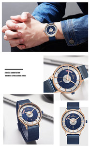 Image 3 - NAVIFORCE 남자 손목 시계 스포츠 군사 방수 남자 시계 육군 비즈니스 캘린더 석영 남성 시계 새로운 Relogio Masculino 3007