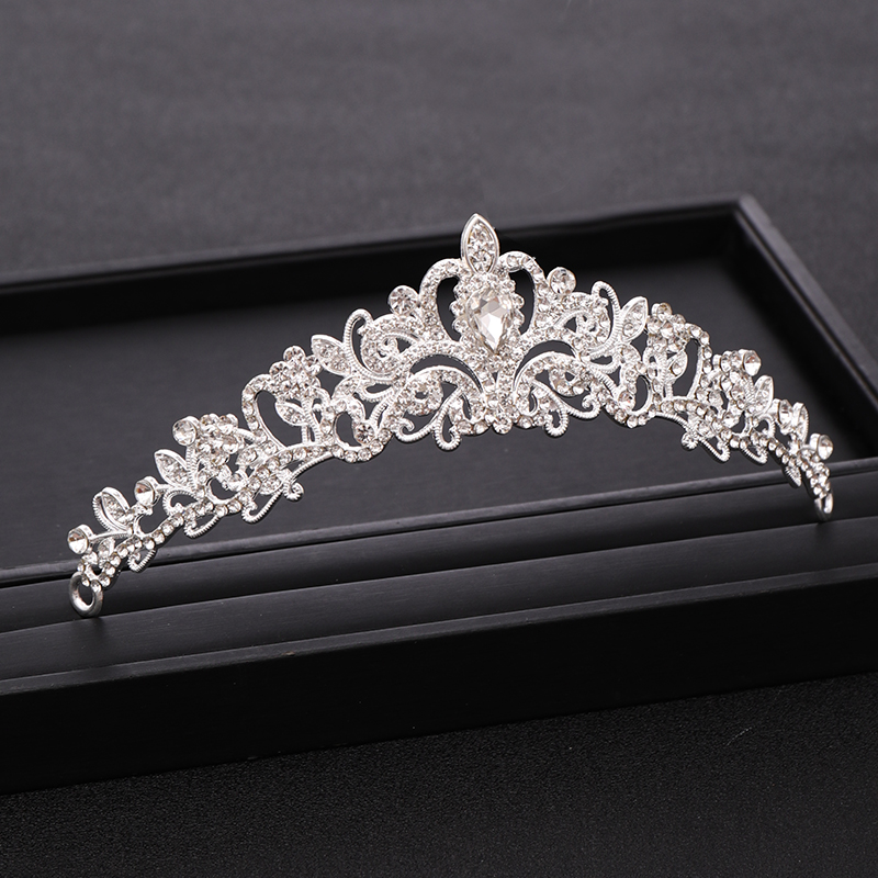 Whether a Bride or a Princess, You'll Dazzle them All in a Crystal Tiara