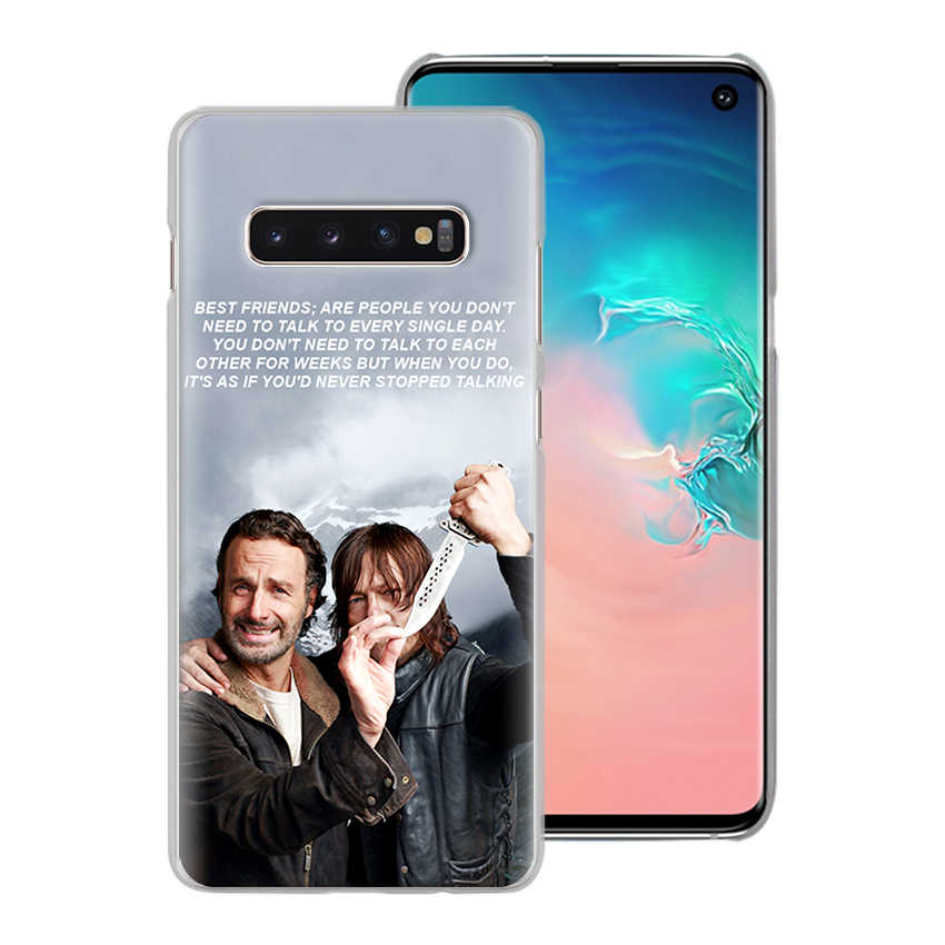 The Walking Dead Team Negan Phone Case for Samsung Galaxy S10 S20 S10e S8 S9 S10 Lite S20 Plus Note 8 9 10 Plus 5G Hard Cover