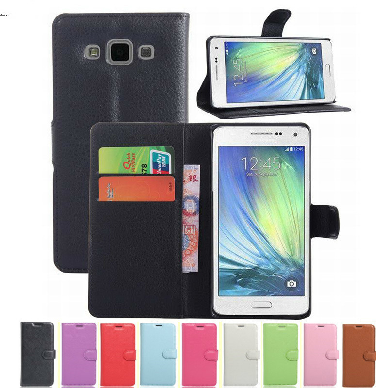 Flip Wallet Case For <font><b>Samsung</b></font> Galaxy A5 2015 A500 A5000 <font><b>A500fu</b></font> SM-A500F Silicone Leather Cover Protective Phone Coque Capa Fundas image