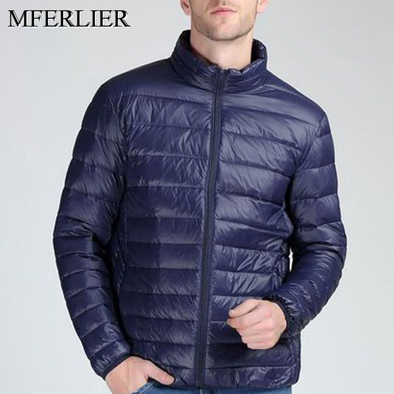 Autumn winter jackets men <font><b>9XL</b></font> 8XL <font><b>7XL</b></font> <font><b>6XL</b></font> 5XL Bust 152cm Plus size winter coat men image
