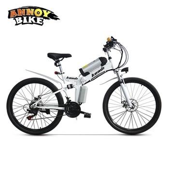 Bicicleta eléctrica Plegable de 26 pulgadas, con batería