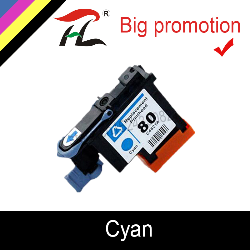 HTL C4820A C4821A C4822A C4823A Printhead For HP80 Designjet 1000 1050c 1055 Ink Cartridge Print Head For Hp 80 Cartridge
