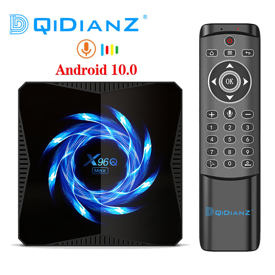 Новинка X96Q MAX Smart TV Box Android 10 Allwinner H616 4 ГБ 32 ГБ 64 Гб 2,4G 5G WiFi Bluetooth 4K медиаплеер Android TV Box