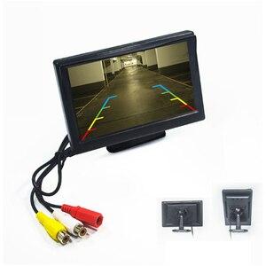 """Image 4 - شاشة سيارة 5 بوصة TFT LCD 5 """"HD الرقمية 16:9 800*480 شاشة 2 طريقة إدخال الفيديو لعكس كاميرا الرؤية الخلفية DVD VCD"""