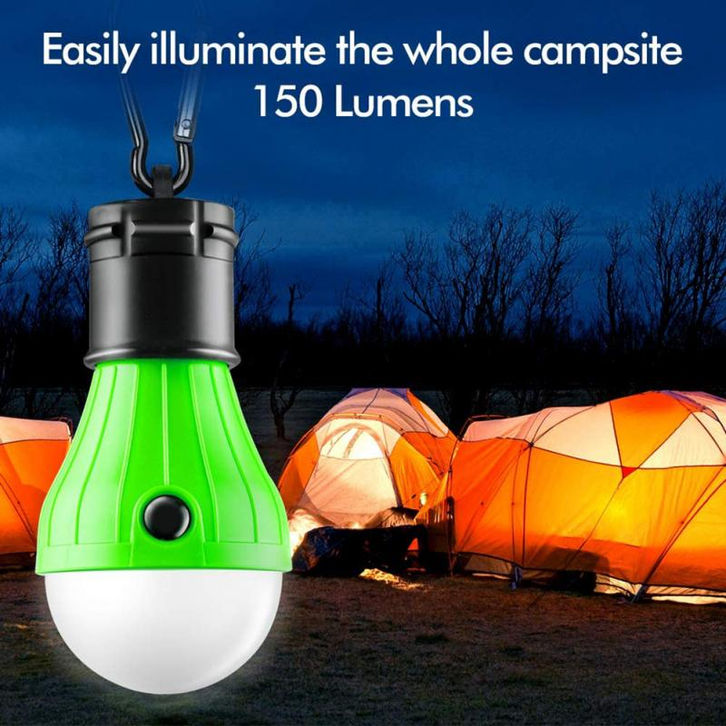 Ultra Bright Camping Tent PortableLantern  Light Bulb LED Hanging Lamp Emergency
