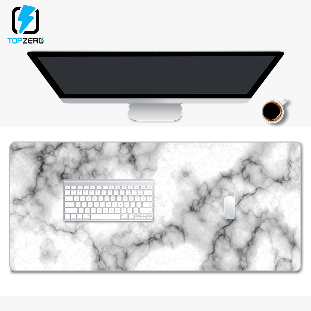 High End Marble Gaming Mouse Pad Large Mouse Pad Gamer Big Mouse Mat Computer Mousepad XXL Mause Pad Keyboard Desk Mat 800*300mm