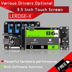 LERDGE-X placa controladora de impressora 3d para peças de impressora controle placa-mãe com braço 32bit mainboard tmc2208 lv8729 a4988 driver