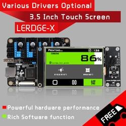 Placa controladora de impresora LERDGE-X 3D para control de piezas de impresora placa base con placa base ARM 32Bit tmc2208 lv8729 a4988 controlador