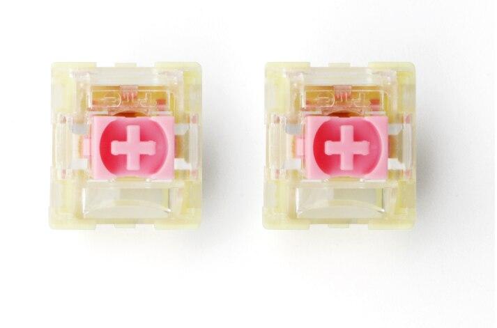 TTC Pink Switch 37G Bat untuk Keyboard Mekanis Cherry MX DIY