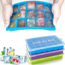 Ice-Tray Mold Kitchen-Bar-Accessories Square-Shape Silicone Home VOGVIGO with Lid DIY