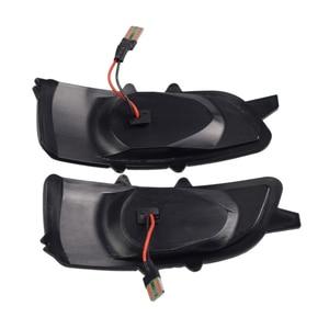 Image 5 - 2pcs Dynamic Blinker For Volvo V40 2013 2016 manual folding inverted mirror LED Turn Signal Mirror Light Flasher Arrow