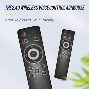 Image 2 - Smart Voice Control GyroAir Mouse  IR Learning 2.4G Wireless Fly Remote Control for TD90s X96 Mini H96 MAX TV Box