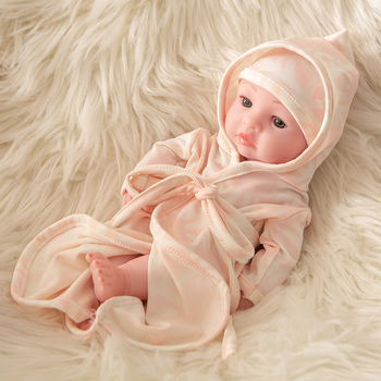 10 Inch Handmade Mini Bebe Reborn Baby Doll Soft Full Vinyl Silicone Realistic Boneca Lifelike Real Baby Doll Toys for Children цена 2017