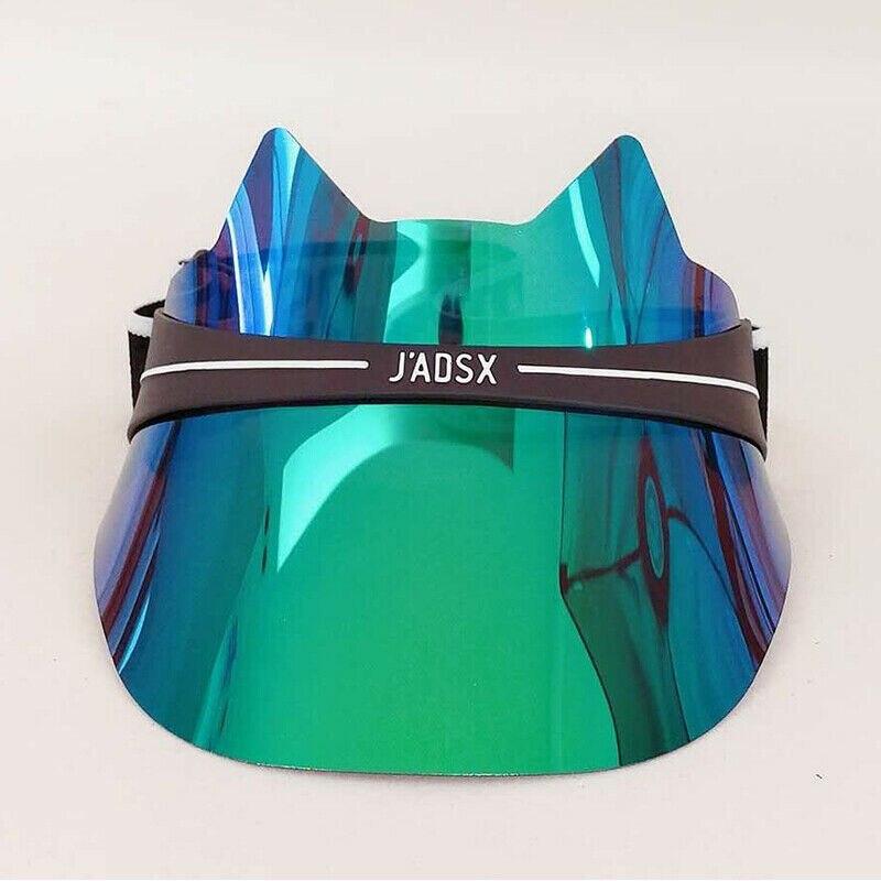 2019 New Visor Sun Hat Golf Tennis Beach Unisex Cap Summer UV Protection Transparent Fashion Anti-UV Protective Skin Top Quality