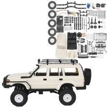 Wpl c54 4wd 2.4g kit desmontado 1/16 fora de estrada de alta velocidade escalada rc carro lc80 carros concha cb05s sem peças elétricas