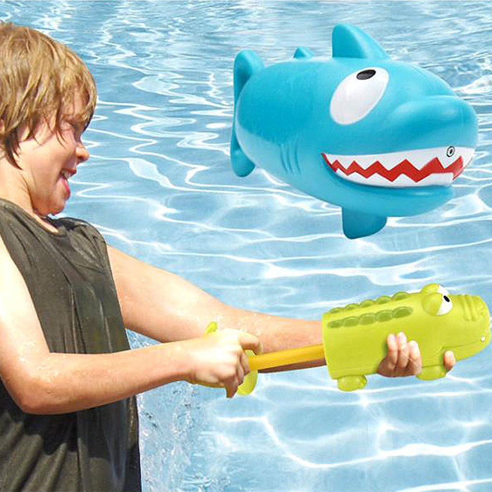 Baby Bath Toys Shark Crocodile Water Guns Toys For Kids Outdoor Toys Swimming Pool Toy For Summer Child Playing