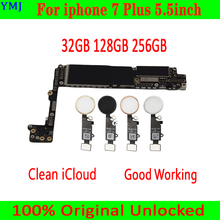 32GB/128GB/256GB for iphone 7 Plus 5.5 inch Motherboard With/Without Touch ID,100% Original unlocked for iphone 7 Plus Mainboar