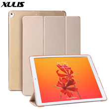Case For iPad Pro 12.9 inch, Ultra Slim Smart Cover PU leather + TPU Silicone Soft Back Case For iPad Pro 12.9 2015 2016 2017(China)