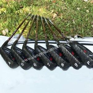 Image 4 - Erkekler yeni Golf kulüpleri MTG itobori Golf ütüler 4 9 P kulüpleri ütüler seti grafit şaft veya çelik mil R veya S esnek ücretsiz kargo