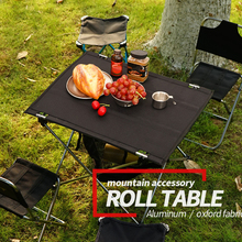 Table-Rack Bbq-Grill Outdoor-Element Folding Ultralight Camping Picnic Aluminum-Alloy