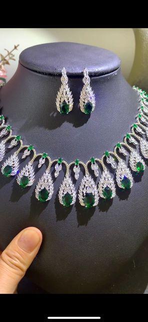 Bridal Zirconia Necklace Set 2