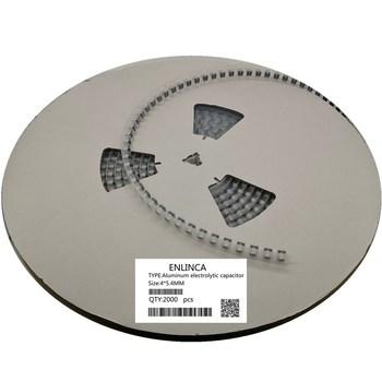 2000pcs 10V 35v 50V 0.47uf 1uf 2.2uf 3.3uf 4.7uf 10uf 47uf 4*5.4mm SMD Aluminum electrolytic capacitor 20% 20%