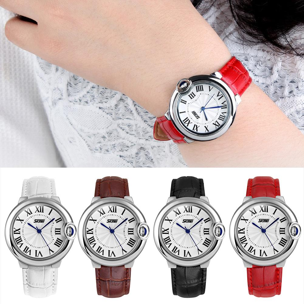 Fashion Roman Numerals Analog Display Quartz Movement Unisex Couple Wrist Watch New Ladies Dress Watches Gift Luxury