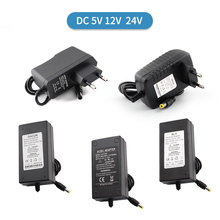 цена на Power Supply 12V Transformer DC 1A 2A 3A 4A 5A 6A 8A 5V 24V Power Supply Adapter 5V 12V 24V Volt LED Driver for LED Strip Lamp
