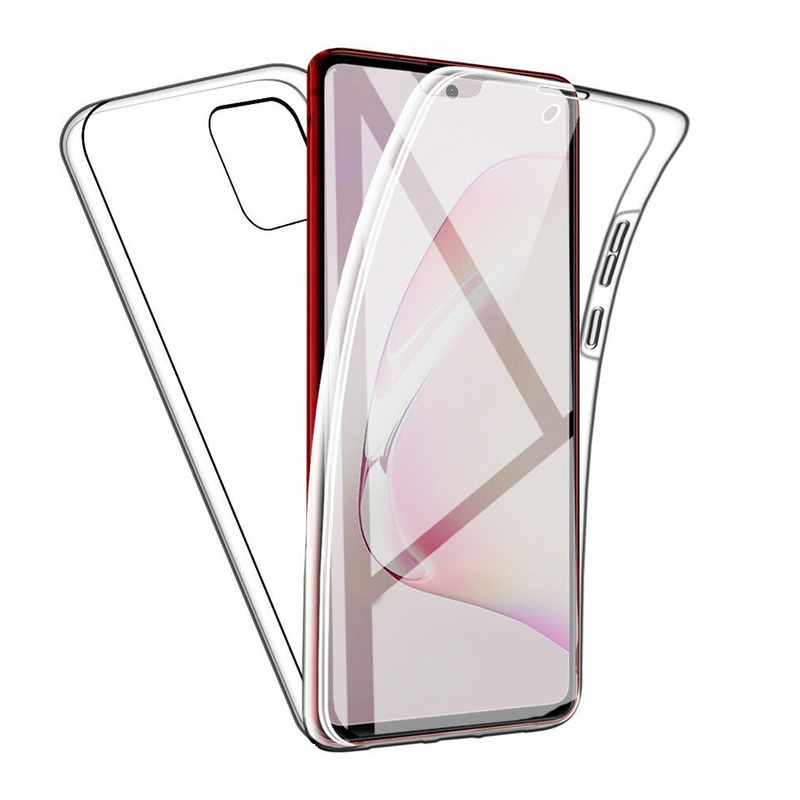 360 Full Body Cover For Samsung A21s SM-A315F A41 Transparent Armor Cover On Galaxy A31 SM-A415F A 21S A 31 A 41 Anti-Knock Capa