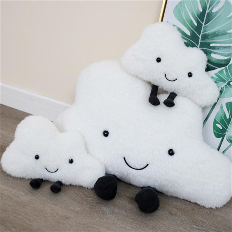 Cloud Pillow Creative Sofa Cushion Plush Toy Accompany Dolls Photo Props Home Decoration  Christmas Valentine Gifts