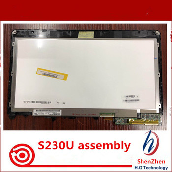 12.5'' LED SCREEN assembly For Lenovo S230U S230 LP125Wh2-SLT1 IPS Lcd Displays with Touch Screen 1366X768
