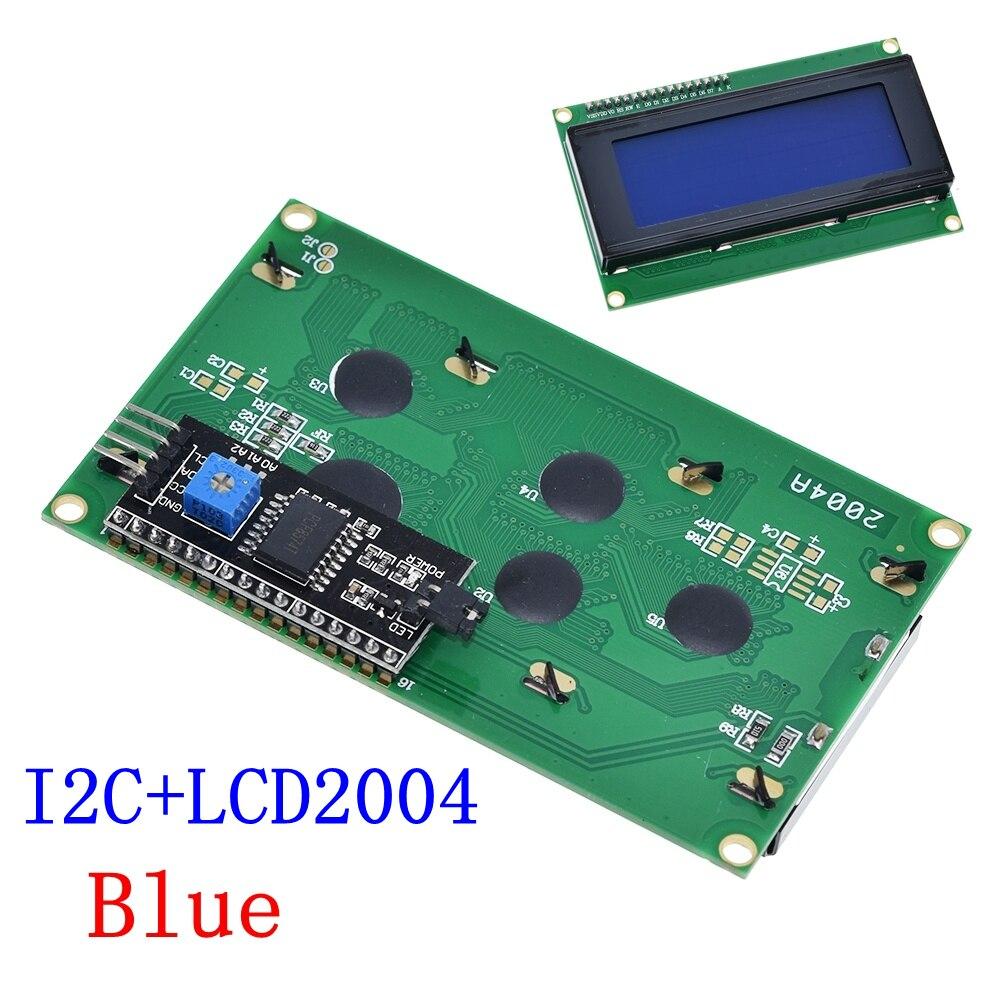 I2 LCD2004 Blue