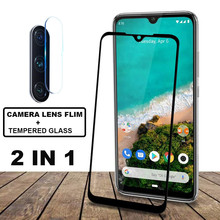For Xiaomi mi A3 MIA3 Screen Protector Camera Lens Protective Flim Glass for Tempered Full Coverage 9H