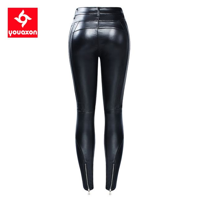 Hot Velvet Motorcycle Biker Jeans 3
