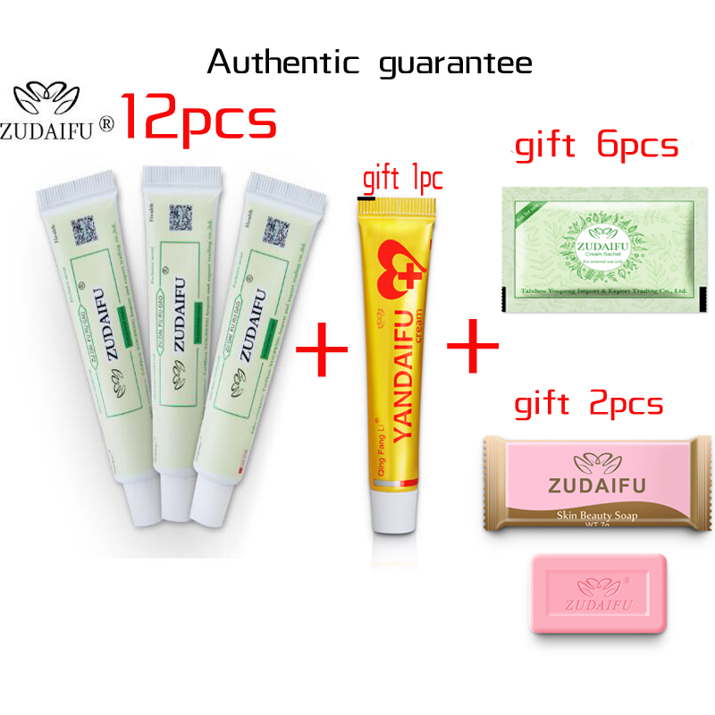 Hot Selling ZUDAIFU Body Psoriasis Cream Skin Care Without Retail Box Remove Psoriasis Eczema