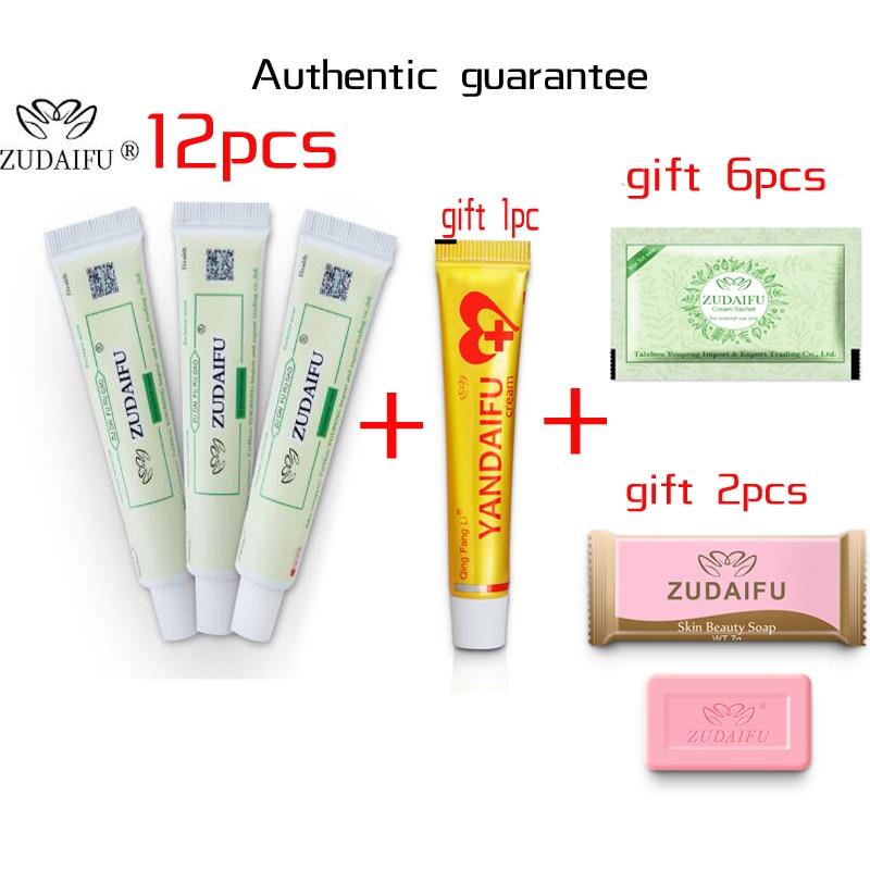 Hot Selling ZUDAIFU Body Psoriasis Cream Skin Care Without Retail Box Remove Psoriasis Eczema