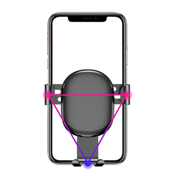 GETIHU Gravity Car Phone Holder Air Vent Clip 8
